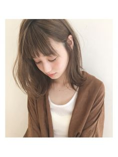 【LOAVE】 外国人風 / ミルクティーカラー × ミディアム