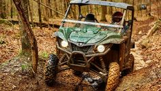 2016 Yamaha Wolverine R Spec Review: We headed to the rain slicked mountainous trails of Brimstone Recreation in Central Tennessee for our first ride in the Yamaha Wolverine R Spec.