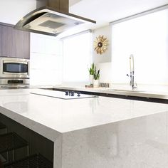 How much will it cost for Weybourne Cambria Quartz Installed Countertops? Get a Free Quote on in-stock Weybourne Cambria Quartz Countertops. Quartz Countertops Cost, Cambria Countertops, How To Install Countertops, Kitchen Countertops, Cambria Torquay, Granite, Kitchen Island, Kitchen Cabinets, Trendy Tree