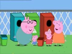 ▶ Peppa Pig Full Episode recycling - YouTube