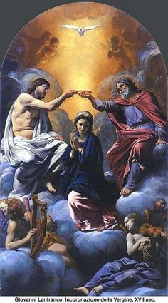 Coronación de la Virgen María en el Cielo y en la Tierra