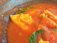 Receta Huevo en Salsa a la Oaxaqueña, Mexico