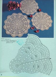"""Photo from album """"ааа Рукоделие"""" on Yandex. Doilies Crafts, Lace Doilies, Crochet Doilies, Crochet Lace, Crochet Stitches, Beading Patterns Free, Doily Patterns, Crochet Patterns, Crochet Placemats"""