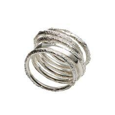 Ring / IOSSELLIANI Iosselliani, Mall, Silver Rings, Bracelets, Accessories, Jewelry, Fashion, Moda, Jewlery