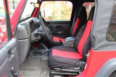 2002 Jeep Wrangler X Red 6 cylinder manual - Carsfortheconnoisseur 2002 Jeep Wrangler, Used Jeep, Clock Spring, Car Seats, Manual, Red, Bags, Handbags, Textbook