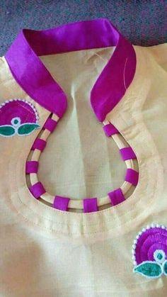 Best 12 Highway neck designing dress – Page 843228730208581324 Churidhar Neck Designs, Neck Designs For Suits, Blouse Back Neck Designs, Neckline Designs, Hand Designs, Sleeve Designs, Blouse Designs, Salwar Suit Neck Designs, Churidar Designs