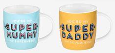 Tazas con superpoderes www.smartyfun.es . #novedades #taza #mug #mummy #daddy #superpoderes #superhero #superhéroe #café #coffe #desayuno #porcelana #smartyfun #ideaspararegalar #regalosoriginales #regalosutiles #tiendaonline #shopping