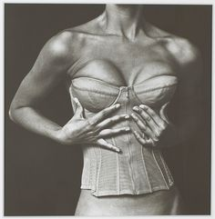 IRVING PENN (1917-2009) Corset Karl Lagerfeld for Chanel, New York, 1994
