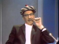 Groucho Marx Dick Cavett 1969 - YouTube  5th of Sept 1969.  19.6. 2014 NCO eCommerce, www.netkaup.is