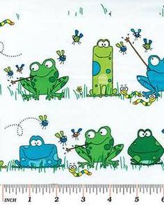 Benartex Leap Frog 4814-9