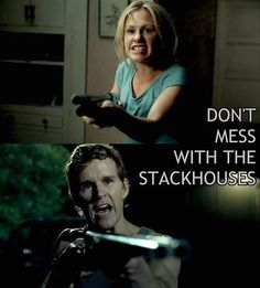 True Blood - Stackhouse siblings - Sookie and Jason Stackhouse from Bon Temps