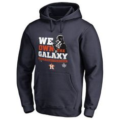 Men's Houston Astros Fanatics Branded Navy 2017 World Series Champions Star Wars Own the Galaxy Pullover Hoodie