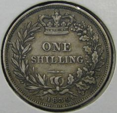 "British Shilling. The Brits were still using ""old money"" when I lived in London in 1968/69. You needed a constant supply of shillings for the electricity and the gas, each of which had meters."