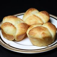 Sweet Dinner Rolls. Use to make cinnamon rolls (without a bread machine: microwave water and milk for 1 min 15 seconds. Pour into bowl, stir in sugar until dissolved, stir in yeast. After 15 min, mix in salt, butter and egg.  Mix in flour half cup at a time. Let  rise 45 min, punch down, divide into 16 balls, let rise for another hour. bake for 10 minutes)