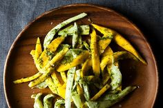 Mango Salad with Fennel Frond Pesto, a recipe on Food52