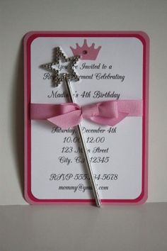Convite de aniversario