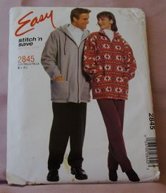 2000 Uncut Easy Stitch n Save By McCalls by lovelylovepatterns, $4.50