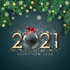 Happy new year background | Premium Vector #Freepik #vector #background #christmas #gold #new-year Happy New Year Gif, Happy New Year Pictures, Happy New Year Wallpaper, Happy New Year Background, Happy New Year Cards, Happy New Year Greetings, Merry Christmas And Happy New Year, New Year's Eve Wishes, Beautiful Flowers Wallpapers
