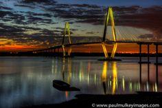 Paul Mulkey Images- Ravenel Bridge