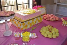 Pink Lemonade First Birthday Party Birthday Party Ideas | Photo 1 of 34 | Catch My Party