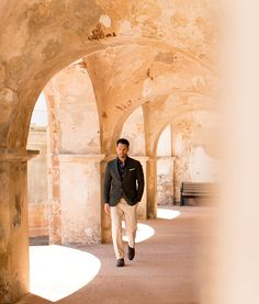 Calle Del Sol. Shot on location in Old San Juan featuring smooth business casual…