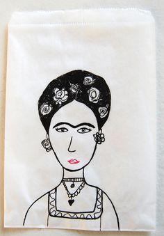 frida bag  Cecilia Bussolari via 101woonideeën D.I.Y. magazine onto Wishlist