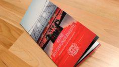 Bayer 04 Leverkusen brochure by Carsten Prenger, via Behance