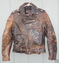 Perfectly worn leather.