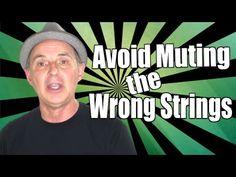 Sunday Update 33- Avoiding Dampening Strings When Making Chords -   https://www.youtube.com/watch?v=6Q3LvtWj0YY
