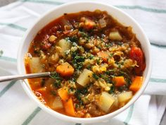Vegetarian Recipes, Healthy Recipes, Healthy Food, Chili, Soup, Vegan, Cooking, Sweet Stuff, Healthy Foods