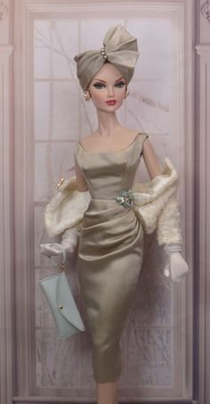 Starlet Sheath for Gene and FriendsYou can find Fashion dolls and more on our website.Starlet Sheath for Gene and Friends Barbie Clothes Patterns, Vintage Barbie Clothes, Doll Clothes, Barbie Gowns, Barbie Dress, Barbie Life, Barbie World, Fashion Royalty Dolls, Fashion Dolls
