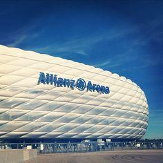 Allianz Arena in München, Bayern