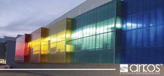 Fachadas ventiladas #policarbonato #IdeasArkos