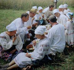 Традиційний день польових робіт в Україні.
