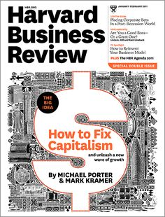 How to reinvent capitalism—and unleash a wave of innovation and growth.