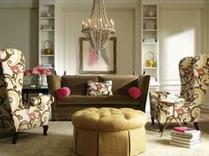 Living Rooms - traditional - Living Room - Montreal - Avenue Design