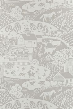 Gable BP 5401 - Wallpaper Patterns - Farrow & Ball