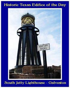 South Jeffy Lighthouse, Galveston