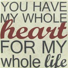 You Have My Whole Heart Canvas Art | Shop Hobby Lobby