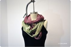 DIY: Bread Bag Dyed Scarf