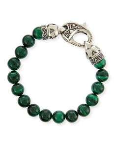 Malachite Beaded Bracelet by Stephen Webster at Neiman Marcus.