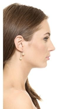 Jules Smith Large Two Piece Earrings | SHOPBOP