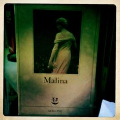 Malina by Ingerborg Bachman - hard book to read, hard book to understand. Not my favourite... It was a present for my 18 years old. Not a good idea indeed.