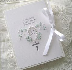 Baptism Photos, Custom Book, First Holy Communion, Handmade Beads, Vintage Embroidery, Monogram Initials, New Baby Gifts, Christening, Baby Baptism