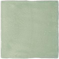 Carrelage rétro mural brillant vert 7.5 x 30 cm - AL0801038 ...