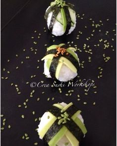 Vegan Temarisushi by Crea Sushi Workshops