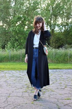 """Duster and Mules - A match made in heaven. More info on my blog <a href=""""http://thejuliaindisguise.blogspot.co.uk/"""">Julia in Disguise</a>"""