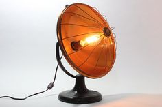 Vintage Steampunk Westinghouse Cozy Glow Copper Lamp –Cool Home Decor Lighting, Office Or Theme Room