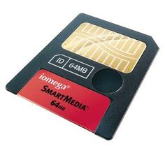SmartMedia flash memory card