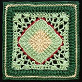 Ravelry: Ribs and Lace Afghan Block pattern by Joyce Lewis.. Free pattern!